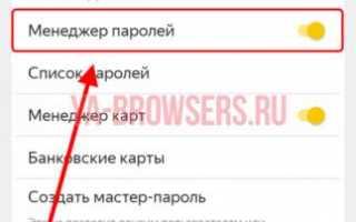Как установить пароль на вход в Yandex браузер: 4 проверенных метода