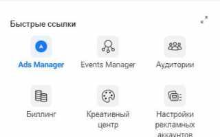 Как дать доступ к рекламному кабинету Facebook для бизнес-менеджера