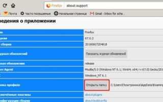Пароли в Firefox – просмотреть, сохранить и удалить