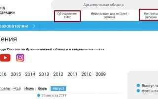 Горячая линия Пенсионного фонда Российской Федерации, как написать обращение