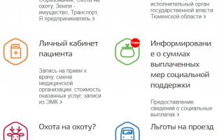 Госуслуги Тюменская область – официальный сайт, личный кабинет