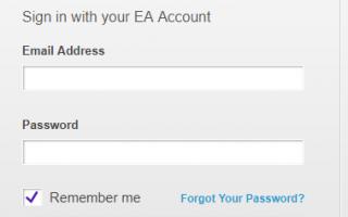 Как создать учётную запись EA