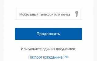 Инструкция для проверки регистрации на Госуслугах
