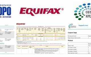 Бюро кредитных историй Equifax: создайте свою идеальную кредитную историю, не выходя из дома
