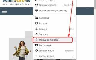 Как посмотреть сохраненные пароли в Яндекс.Браузере:  подробная инструкция