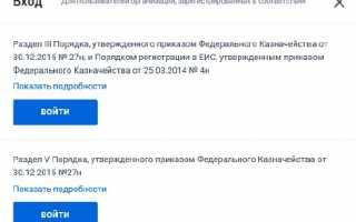 Как заказчику зарегистрироваться в ЕИС: пошаговая инструкция