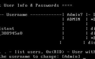 Windows 7: Как сбросить пароль Администратора