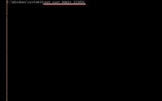 Быстрый сброс пароля администратора Windows 7