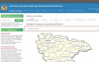 ЕПСС ЖКХ г. Воронеж – личный кабинет