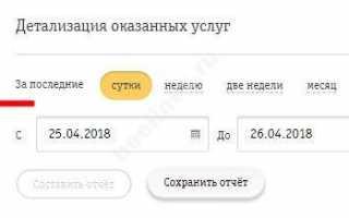 Детализация звонков Beeline Казахстан и Распечатка СМС Beeline Казахстан чужого номера