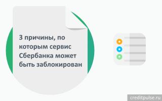 Как разблокировать «Мобильный банк» Сбербанка: через телефон, банкомат или контактный центр