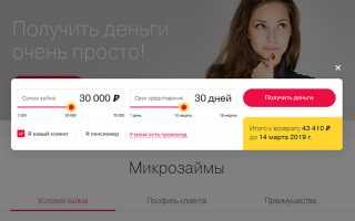 Личный Кабинет «Ваши Деньги» — Регистрация и Вход, Онлайн Заявка, Телефон и Адреса Офисов