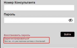 Личный кабинет МериКейИнтач.Ру: вход для консультантов Мерикей Интач онлайн