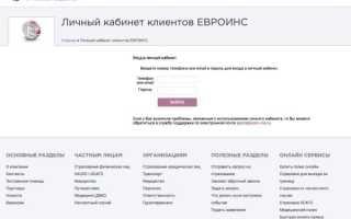 Оформляем полис ОСАГО в страховой компании «Евроинс»