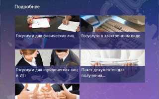 Скачать Госуслуги  на русском бесплатно