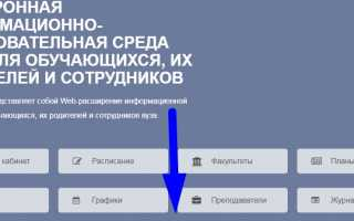 ЭИОС СПФХУ — вход в личный кабинет онлайн университета