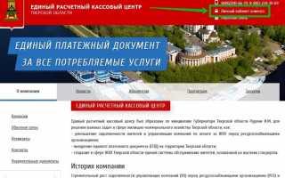 На сайте «Тверской генерации» действует онлайн-сервис «Личный кабинет»