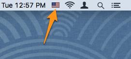 Языковые настройки Mac